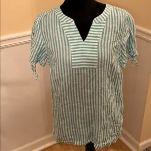 2 for $20 Talbots Linen Top